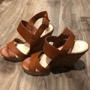 Jessica Simpson Wedges size 7.5
